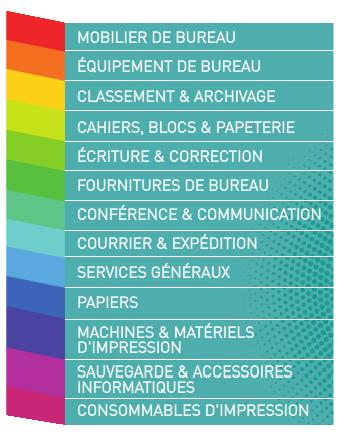 Maxipap fournitures de bureau mobilier mat riel de for Les fournitures de bureau